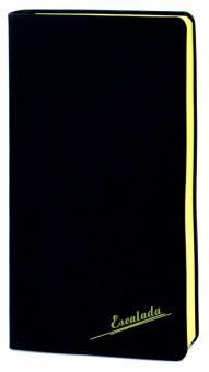 """Ежедневник недатированный """"Черный, желтый блок"""" (96 листов, А5) (45306)"""