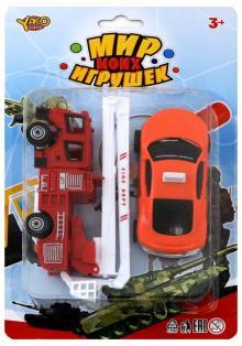 """Набор машинок """"Пожарная служба"""", 2 штуки (В88728)"""