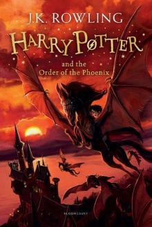 Harry Potter 5: Order of the Phoenix (rejack.) HB - Joanne Rowling