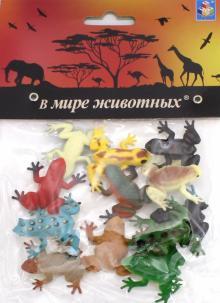 """Игровой набор """"Лягушки"""" (12 штук, 5 см) (Т50502)"""