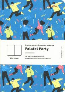 """Блокнот """"Party"""", A6, нелинованный, 40 листов, кремовая бумага (402716)"""