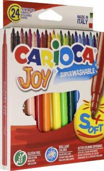 """Фломастеры 24 цвета """"CARIOCA"""" (40615)"""