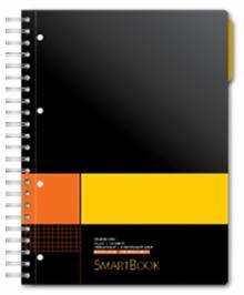 """Бизнес-тетрадь """"Smartbook"""" (120 листов, клетка, А4) (83308)"""