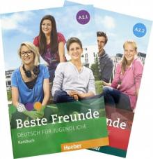 Beste Freunde. Deutsch fur Jugendliche. Kursbuch. A2.1 und A2.2 - Georgiakaki, Seuthe, Schumann, Graf-Riemann