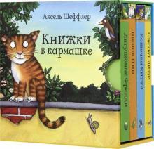 Книжки в кармашке. Комплект из 4-х книг
