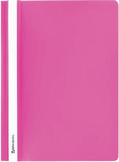 Папка-скоросшиватель А4, розовый (228672)