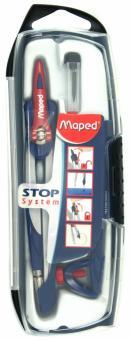 """Готовальня """"Stop System"""", 3 предмета в футляре (196100)"""