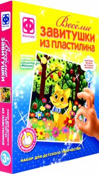 """Веселые завитушки из пластилина """"Набор №2"""" (447102)"""