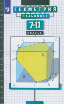 Геометрия в таблицах. 7-11 класс. Справочное пособие