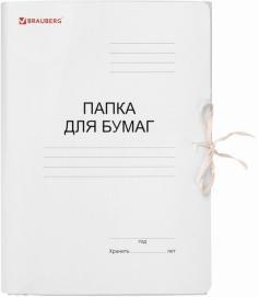 Папка для бумаг с завязками (121513)
