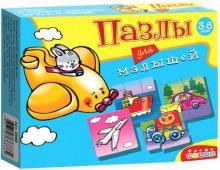 "Пазлы для малышей ""6 забавных машинок"" (2588)"