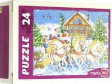 """Puzzle-24 """"НОВОГОДНЕЕ НАСТРОЕНИЕ"""" (П24-5876)"""