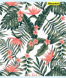 Тетрадь 48 листов, Цветы, 4 вида (812015-55)