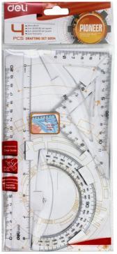 """Набор """"Pioneer"""" (линейка 20 см./треугольник 2 шт./транспортир) (EG0041)"""