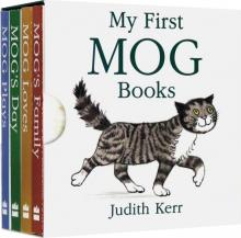 My First Mog Books. 4 book box set - Judith Kerr