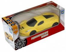Спортавто. Машина на радиоуправлении (1:26, желтая) (Т13823)
