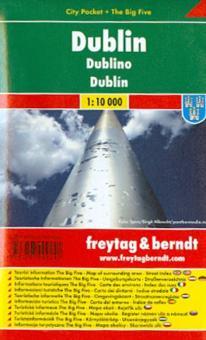 Dublin City pocket +The big Five 1:10000
