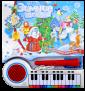 Пианино-караоке. Зимние песенки