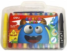 """Мелки гелевые 12 цветов """"Color Kids"""" (EC20504)"""