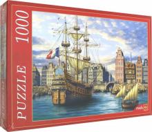 """Puzzle-1000 """"СТАРЫЙ ПОРТ"""" (Ф1000-6814)"""