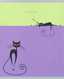"""Тетрадь 48 листов, клетка """"Всюду кошки"""", в ассортименте (ТК485766)"""