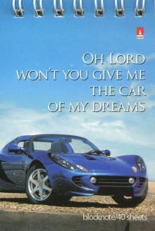 """Блокнот """"Машины мечты"""" (40 листов, А7, гребень, клетка, в ассортименте) (3-40-008)"""