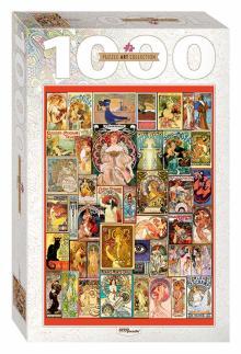 """Step Puzzle-1000 """"Art Nouveau"""" (79121)"""