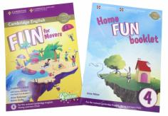 Fun for Movers. Student's Book with Online Activities with Audio and Home Fun Booklet 4