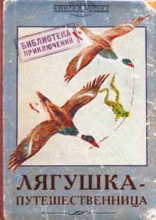 "Обложка для загранпаспорта ""Лягушка-путешественница"" (RN576)"