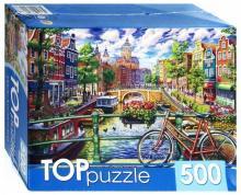"TOPpuzzle-500 ""Мосты Амстердама"" (ХТП500-4223)"