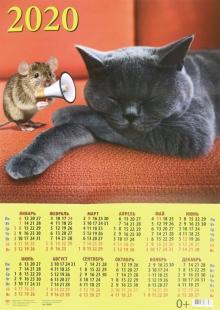 """Календарь настенный на 2020 год """"Символ года. Пора вставать"""" (90020)"""