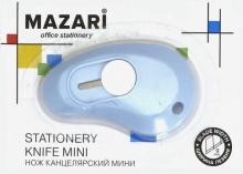 Нож канцелярский мини 9мм (M-6307)