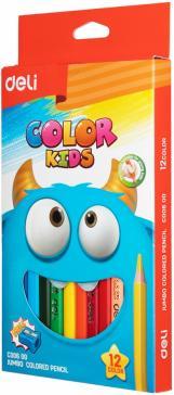 """Карандаши 12 цветов """"Color Kids"""" трехгранные (EC00600)"""