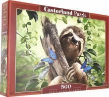 """Puzzle-500 """"Счастливый ленивец"""" (B-53223)"""