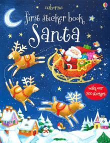 First Sticker Book: Santa - Sam Taplin