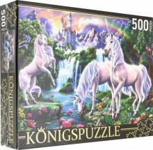 """Puzzle-500 """"Волшебные единороги"""" (ХК500-6311)"""