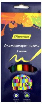 """Фломастеры-кисти """"Цветландия"""" (6 цветов) (877069-06)"""