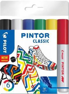 Маркеры 6 цветов Pintor-Regular-M-S6