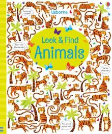 Look and Find Animals - Kirsteen Robson