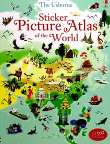 Sticker Picture Atlas of the World - Sam Lake