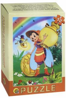"""Puzzle-12 """"Сказки для малышей"""", в ассортименте (П12-1265)"""