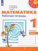 Дорофеев, Миракова, Бука - Математика. 1 класс. Рабочая тетрадь. В 2-х частях обложка книги