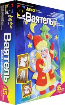 """Ваятель. Набор для создания объемных барельефов """"Дед Мороз у елки"""""""