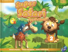 Super Safari 2. Pupil's Book + DVD-R