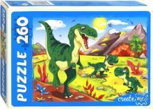 "Puzzle-260 ""Эпоха динозавров"" (ПУ260-0640)"
