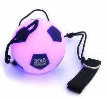 Мяч на веревке с LED-подсветкой. Футбол FIFA 2018 (СН073)