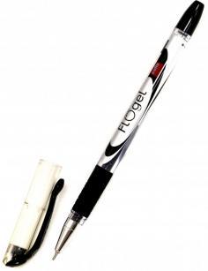 "Ручка гелевая 0.5 мм ""FLO GEL"" черная (813593)"