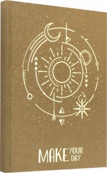 """Книга для записей """"Make Your Day. Дизайн 4"""" (96 листов, А5-, линейка) (КЗКФ5963147)"""