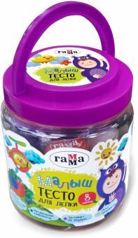 "Тесто для лепки 8 цветов ""Малыш"" (211218_04)"
