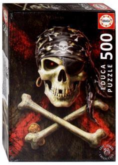 Пазл-500 Пиратский череп (17964)